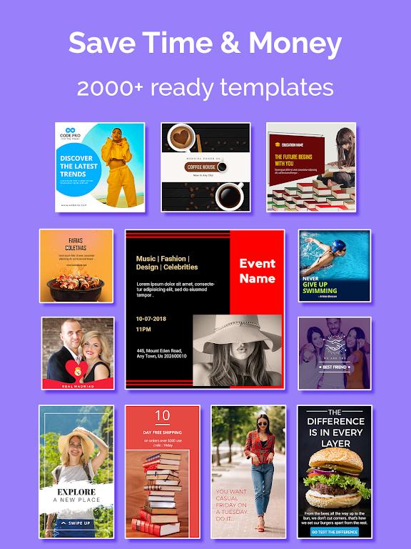 Social Media Post Maker, Planner, Graphic Design  poster 9