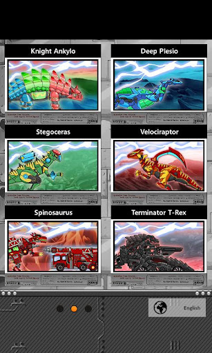 Transform Dino Robot - General Mobilization 1.29.0 screenshots 2