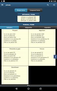 Conjugator TIP.Conjugate verbs