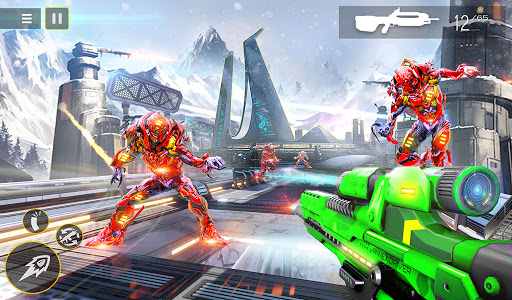 US Police Robot Counter Terrorist Shooting Games  Screenshots 16
