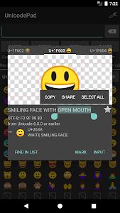 Unicode Pad 2.10.4