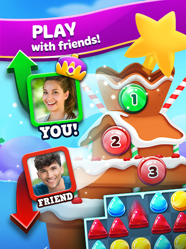 Frozen Frenzy Mania u2013 Match 3 screenshots apkspray 8