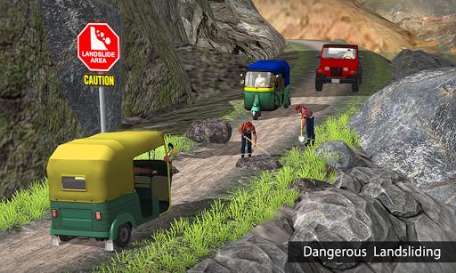 Tuk Tuk Auto Rickshaw Offroad Driving Games 2020 android2mod screenshots 6
