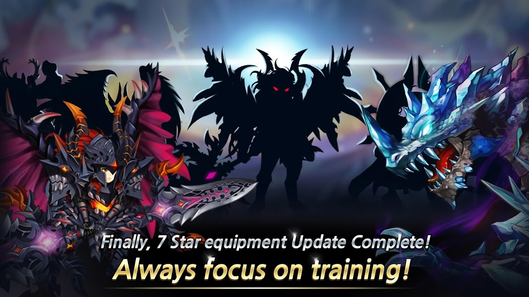 Training Hero: Always focuses on training