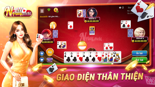 NPLAY: Game Bu00e0i Online, Tiu1ebfn Lu00ean MN, Binh, Poker.. 3.6.0 Screenshots 3