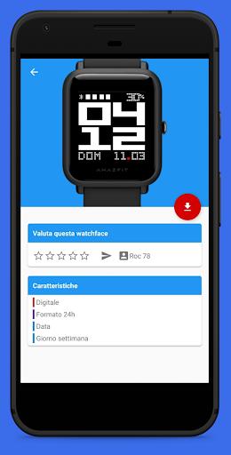 Amazfit Bip / Lite WatchFaces apktram screenshots 5