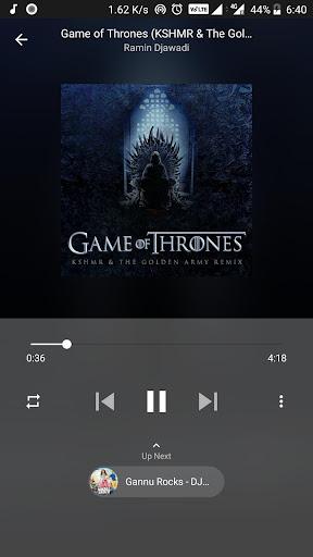music player - free music player [no ads] screenshot 1