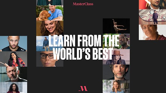 Free MasterClass  Learn from the best 3