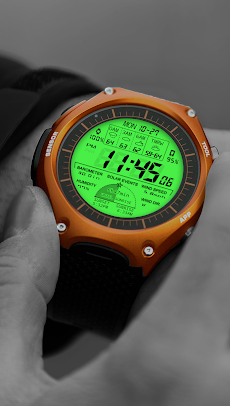 F03 WatchFace for LG G Watch Rのおすすめ画像3