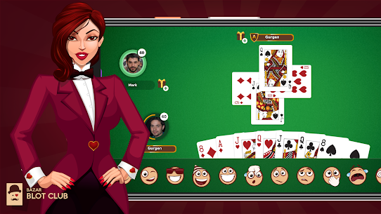 Bazar Blot Club : Best Armenian Card game : Belote 4.4.6 Mod APK (Unlimited) 2