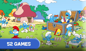 Smurfs and the four seasons