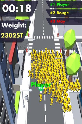 Crowd Buffet - Fun Arcade .io Eating Battle Royale android2mod screenshots 3
