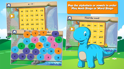 Dino 1st Grade Learning Games  screenshots 4
