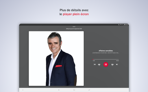 France Inter - radio, podcasts, actu 6.0.0 screenshots 18
