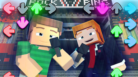 Mod Friday Night Funkin for Minecraft .APK Preview 1
