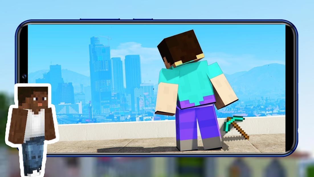 Captura de Pantalla 4 de Best of San Andreas Mod + Addons CJ for MCPE para android