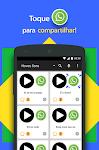 screenshot of Sons Engraçados pra WhatsApp