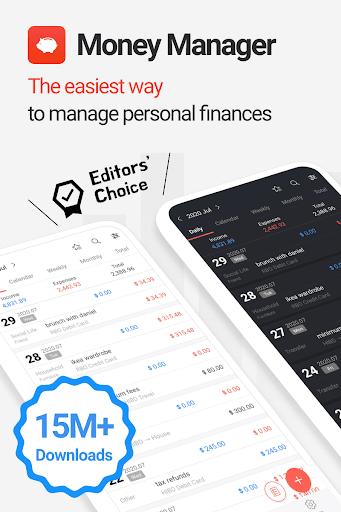 Money Manager Expense & Budget  screenshots 1