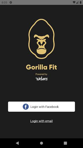 Gorilla Fit screenshot 1