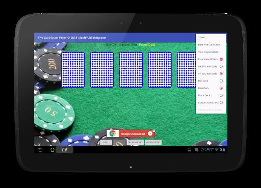 Five Card Draw Poker 1.20 screenshots 10