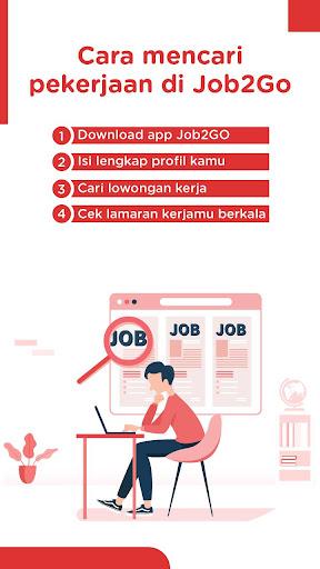 Job2Go: Lowongan Kerja apktram screenshots 5