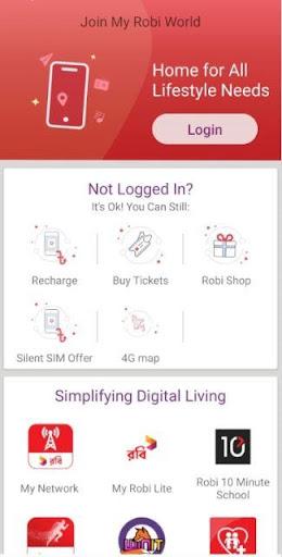 My Robi modavailable screenshots 1