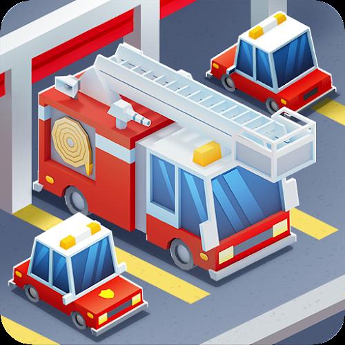 Idle Firefighter Tycoon (Mod Money) 1.21 mod
