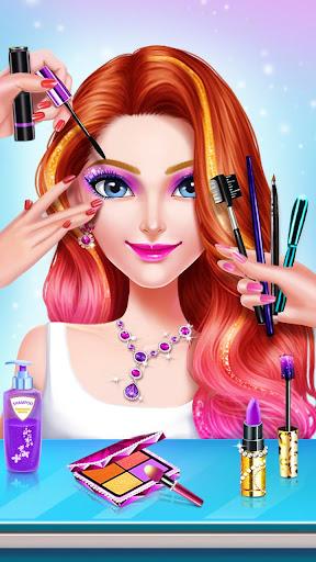 ud83cudfebud83dudc84School Date Makeup - Girl Dress Up  screenshots 11