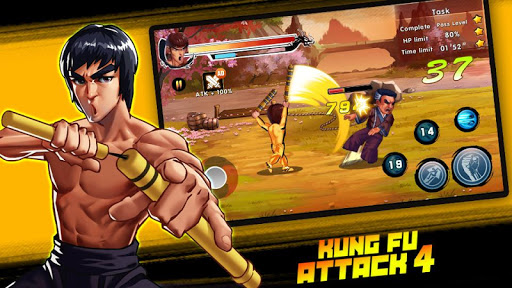 Kung Fu Attack 4 - Shadow Legends Fight 1.2.8.1 screenshots 1