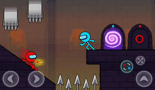 Red and Blue Stickman : Season 2 android2mod screenshots 11