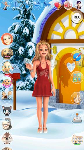 My Little Talking Ice Princess apkmartins screenshots 1