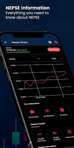 Nepal Share - Free NEPSE Portfolios Apkfinish screenshots 1