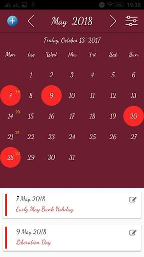 Ccsf 2022 Calendar.Uk Calendar App With Holidays Apps On Google Play