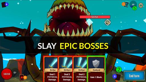 Code Triche Quest Lands : Slay the Titan - Roguelike Card RPG apk mod screenshots 5