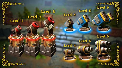 Fantasy Realm TD. Offline Tower Defense Game  screenshots 5