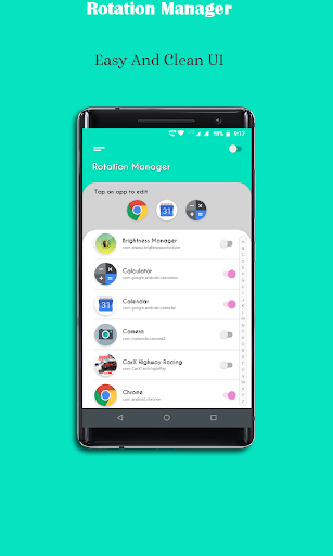 Rotation Manager - Screen Orientation Manager screenshots 14