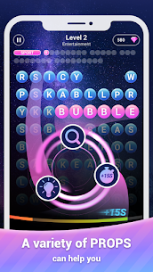 Scrolling Words Bubble – Find Words & Word Puzzle 2