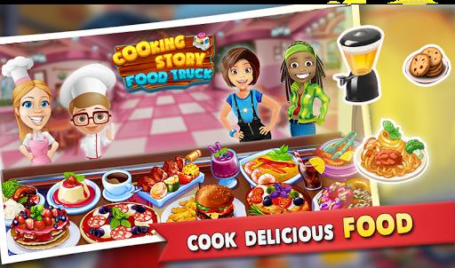 cooking story : food truck game screenshot 1