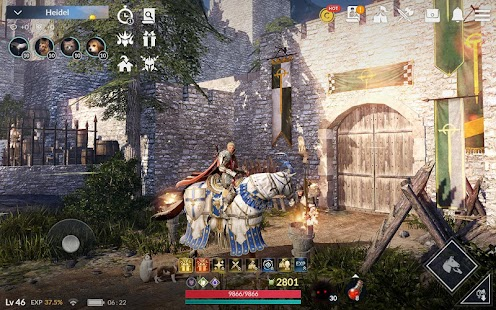 Black Desert Mobile Screenshot