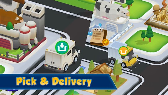 City Builder : Pick-up And Delivery MOD APK 0.5.8 (Free Purchase) 4
