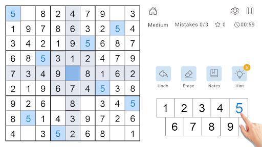 Daily Sudoku Classic - Free Sudoku Puzzle 1.0.4 screenshots 6