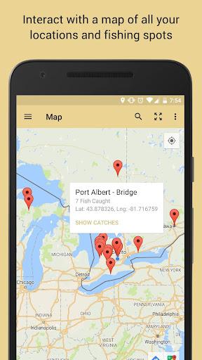 anglers' log - fishing journal screenshot 2
