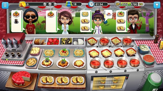 Cooking Games: Food Truck Chef My Cafe Restaurant 1