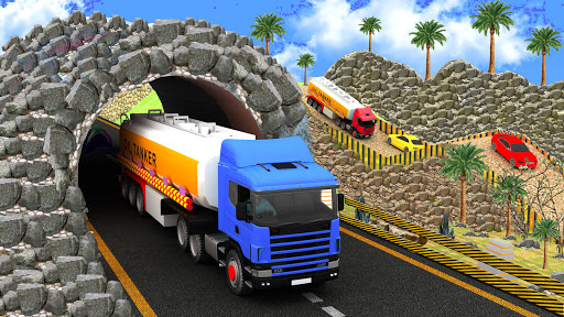 Indian Oil Tanker Cargo Truck Game apkpoly screenshots 8