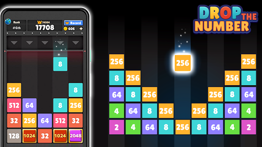 Code Triche Drop the Number™ : Merge Game APK MOD (Astuce) screenshots 1