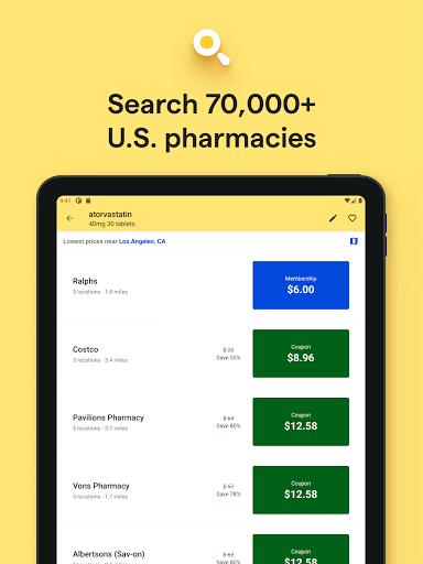 GoodRx: Prescription Drugs Discounts & Coupons App apktram screenshots 12