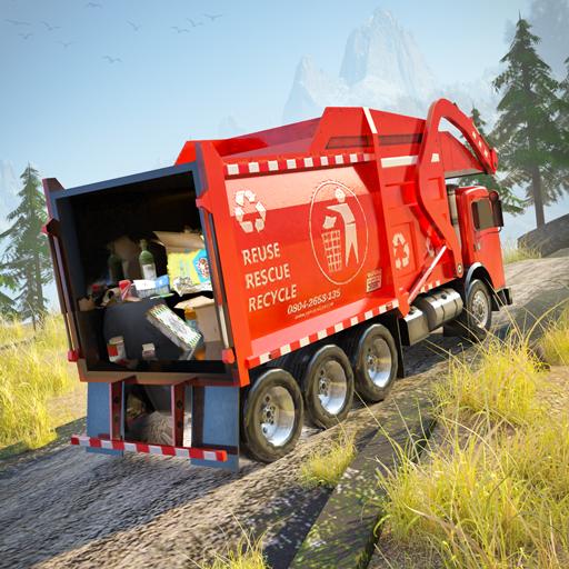 Heavy Trash Truck Sim - Trash Dump Truck Driver