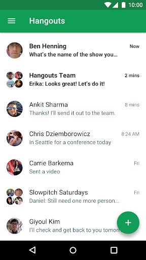 Hangouts apktram screenshots 1