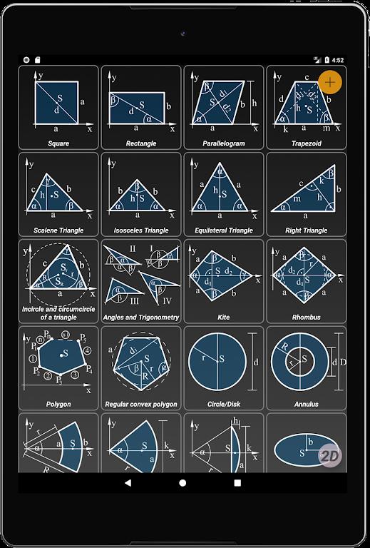 Geometryx: Geometry - Calculator  poster 8