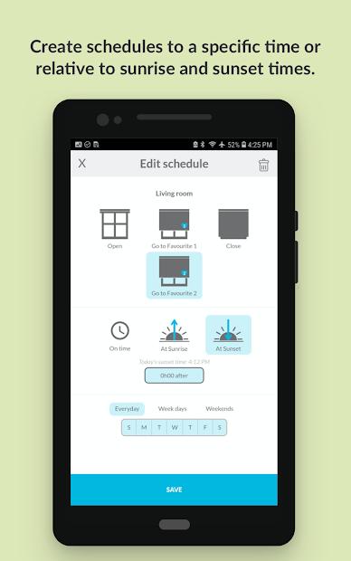 Screenshot 5 de Neo Smart Blinds para android